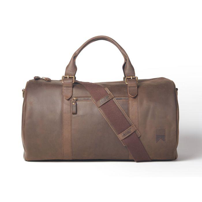 Helmsman Leather Duffle Bags For Men At Navali