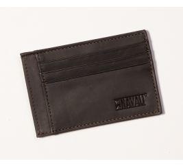 Steward Card Case - Brown