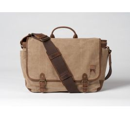 Boatswain Canvas Messenger – Natural