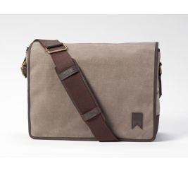 Mainstay Waxed Canvas Messenger