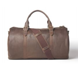 Helmsman Leather Duffle