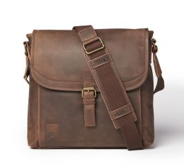 Shipwright Leather Satchel - Brown