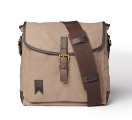 Shipwright Waxed Canvas Satchel Charcoal Grey