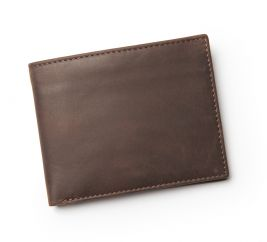 Steward Leather Wallet-Brown
